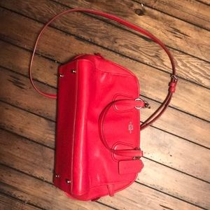 Coach Crossbody Bag - Red
